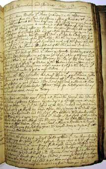 Libro del 'Experiment' (hacia 1690).
