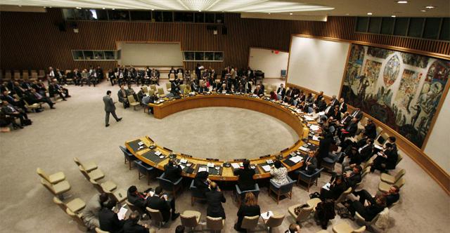 Vista del Consejo de Seguridad de la ONU el viernes. | AP