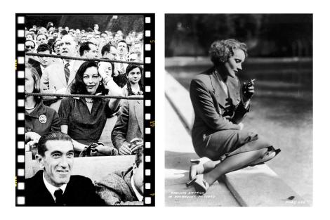 Ava Gardner y Marlene Dietrich, ejemplos de mujeres temidas y deseadas.