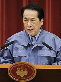 El primer ministro Naoto Kan. | AP
