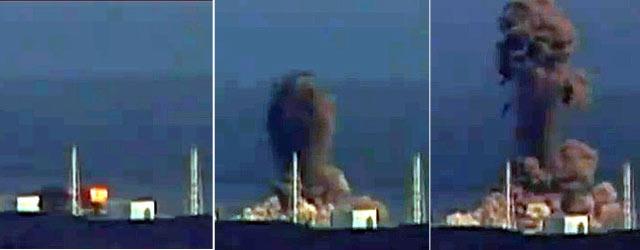 Imagen de la central de Fukushima durante la explosión. | Afp LAS IMÁGENES DE LA CATÁSTROFE