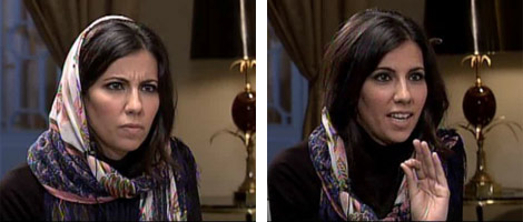 Ana Pastor, durante la entrevista.