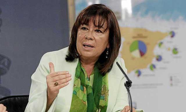 Cristina Narbona, en una imagen de archivo. | El Mundo.