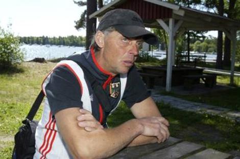 El entrenador Don Nordqvist en una entrevista para un periódico  sueco. | MVT | Joel Clasén
