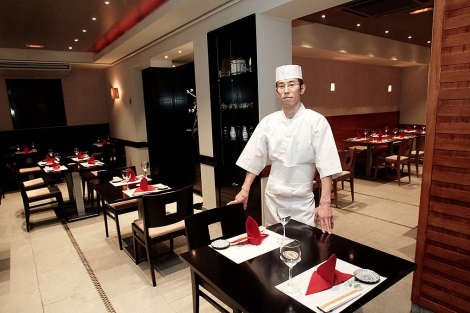 Restaurante japonés Miyama, en Madrid. | Bernabé Cordón