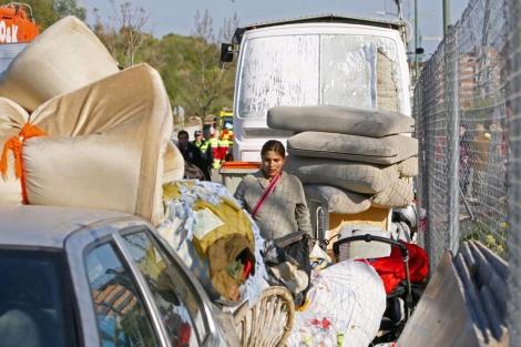 Las noticias sobre desalojos son habituales en la información relacionada con la comunidad gitana. [Clic para ampliar la imagen]