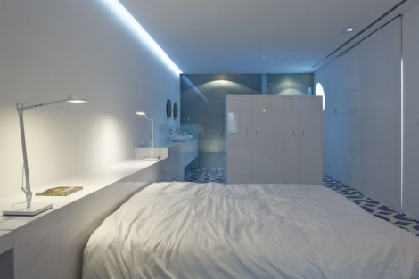 El interior de la habitación del Hotel Marco.   MARCO