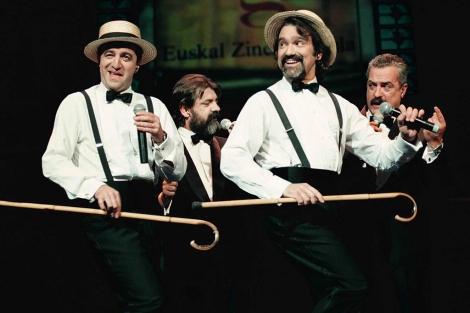 Actuación del popular cuarteto Golden Apple Quartet. | I. Andrés