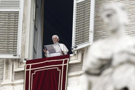 El papa Benedicto XVI el pasado día 10 de abril. | Efe
