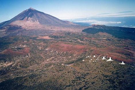 Vista del Observatorio del Teide. | Foto: Instituto Astrofísico de Canarias.