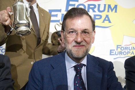 Mariano Rajoy, en el Foro Nueva Economía. | Foto: A. Di Lolli