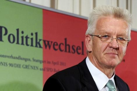 El líder de los Verdes y primer ministro de Baden-Württemberg, Winfried Kretschmann. | Efe