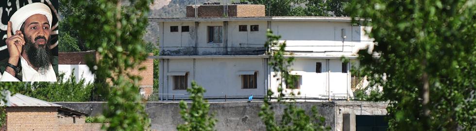 La casa donde fue asesinado Obama. | Afp VEA MÁS FOTOS DEL ÚLTIMO HOGAR DE BIN LADEN