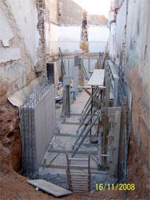 La casa se construye en un solar vaciado en Carcaixent (Valencia) | Elmundo.es