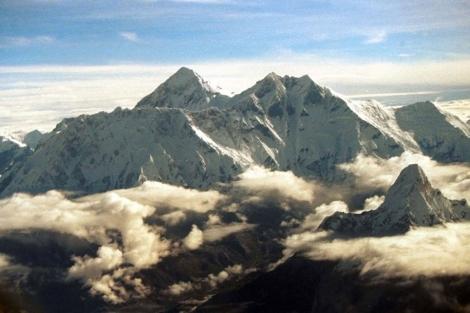 Fósiles marinos en la cima del Everest 1305289053_0