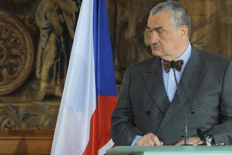El ministro de Asuntos Exteriores checo, Karel Schwarzenberg. | Afp