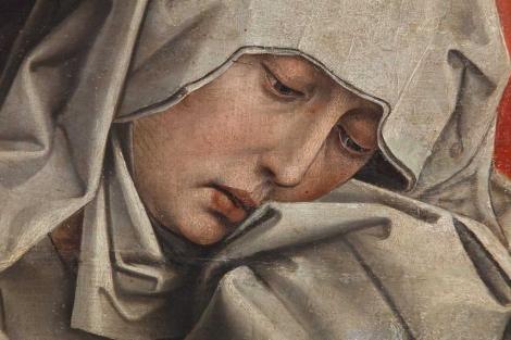 'El calvario' de Rogier van der Weyden