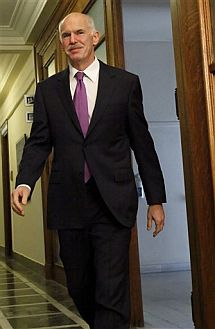 El primer ministro griego, Yorgos Papandréu. | AP