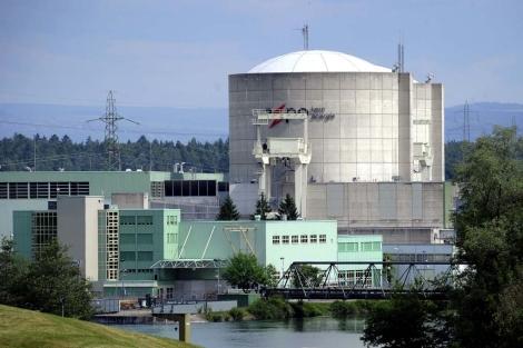 Beznau, la planta nuclear más antigua de Suiza. | Afp