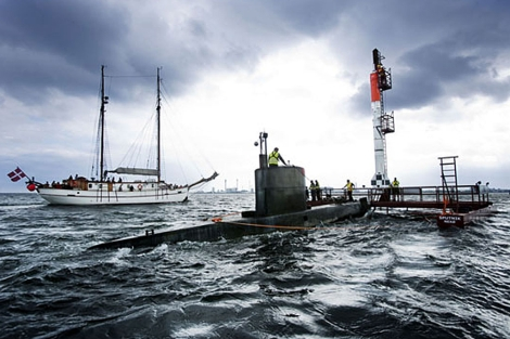 El cohete fue lanzado desde la isla de Bornholm. | Copenhagen Suborbitals
