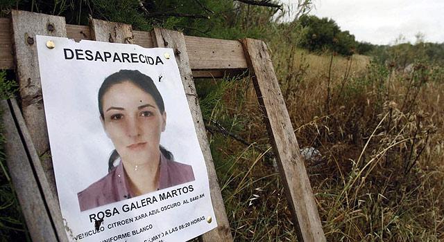 Cartel de búsqueda de Rosa Galera, asesina por su ex pareja. | Efe