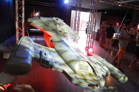 Foto de archivo de una exposición sobre Star Trek. | José Cuéllar