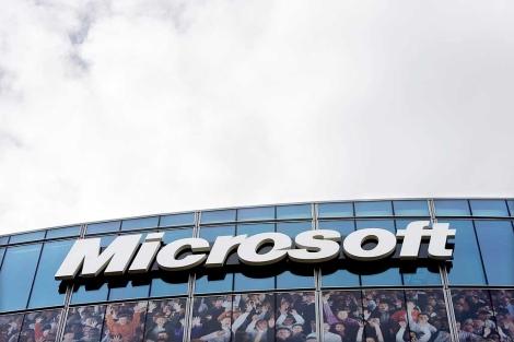 Un edificio de la compañía Microsoft. | Reuters