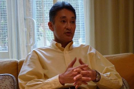 Kazuo Hirai, vicepresidente de productos y servicios de Sony | Pablo Romero