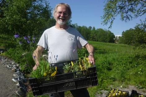 Arve Elvebakk, director del Jardín Botánico de Tromso. | Pedro Cáceres