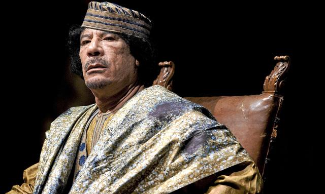 El líder libio, Muamar Gadafi. | Andrew Medichini