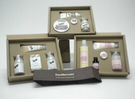 Productos cosméticos ofrecidos en la Feria
