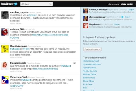 Captura de pantalla de Twitter.   ELMUNDO.es