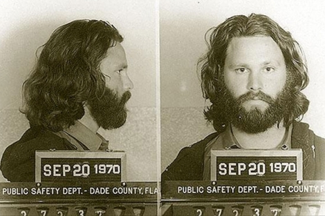 Imagen de su ficha policial en 1970.