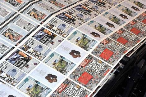 Edición del último número de 'News of the World'. | Efe