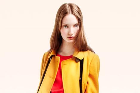 La modelo, en una imagen de la campaña de Topshop. | www.topshop.com