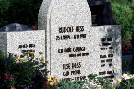 Imagen de archivo de la tumba de Rudolf Hess en Wunsiedel.1 AFP