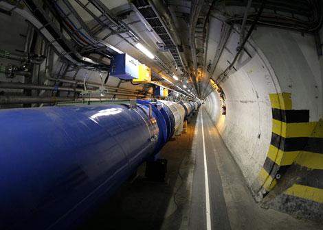 El Gran Colisionador de Hadrones (LHC) en Ginebra. | AP