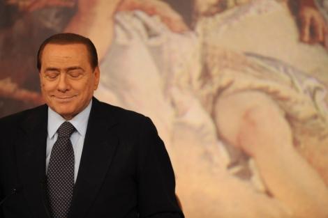 El primer ministro italiano, silvio berlusconi. | afp