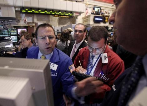 Agentes de Bolsa en Wall Street. | Ap