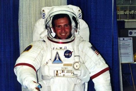 Imagen del aspirante a astronauta Thad Roberts.| El Mundo
