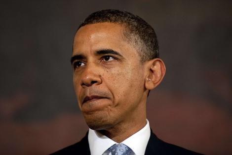 Barack Obama, durante una rueda de prensa sobre la economía. | Afp