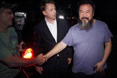El disidente chino Ai Weiwei tras ser liberado por el régimen. | EL MUNDO