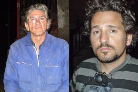 Orlando y Zamir (dcha) viven ahora en una aldea de Monterrei. | M.S.