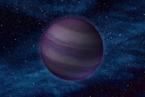 Recreación de una de las estrellas observadas.| NASA