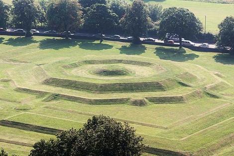Los jardines del Castillo de Stirling (Escocia), donde se están realizando los trabajos. | Post.dlf