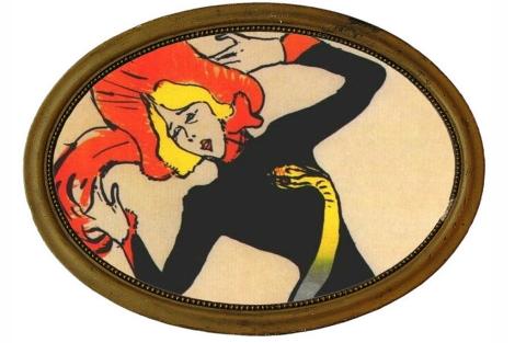 Jane Avril, retratada por Henri Toulouse-Lautrec.