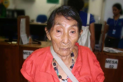 María Lucimar Pereira podría ser la persona más anciana del mundo.| INSS/Survival