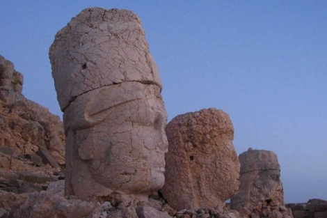 Los colosos de Nemrut en Turqua. | Onur Kocatas