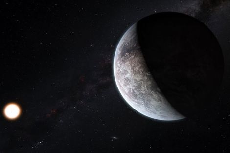 Recreación de uno de los nuevos planetas hallados. | ESO