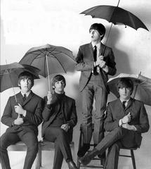 The Beatles en una imagen de 1965.